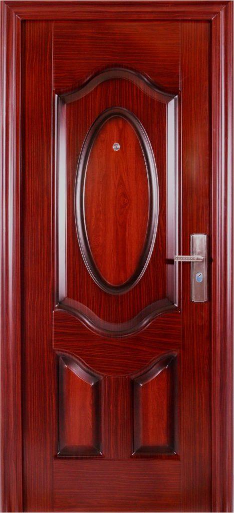 Pintu Ukir Pintu Rumah Minimalis dari Pintu baja Fortress 90-10